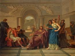 king menelaus in greek mythology greek legends and myths the court of menelaus