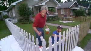 How to Stain a Wooden Fence in Your Yard Todays Homeowner