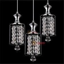 new modern crystal chandelier ceiling lights pendant lamp led lighting 3 lights