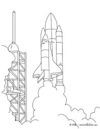 space shuttle coloring pages. Simple Space And Space Shuttle Coloring Pages N