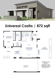 Modern One Bedroom House Plans Universal Casita House Plan House Plans Bedrooms And Home