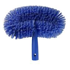 ceiling fan duster with extension pole. ettore wall brush or ceiling fan duster with extension pole a