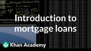 Introduction To Mortgage Loans Housing Finance Capital Markets