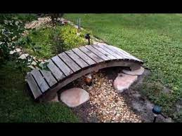 garden bridge with free plans you