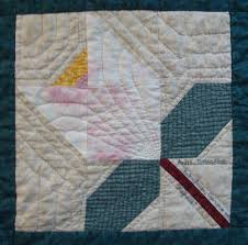 Nifty Fifty Quilters of America First Swap & louisiana magnolia quilt block Adamdwight.com