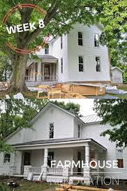awesome old farmhouse renovations before and after 8