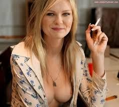 Kirsten Dunst Smoking Celebrities Pinterest Kirsten dunst.
