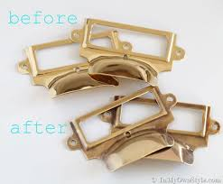 How To Age Brass in Less Than 5 Minutes | Brass fixtures, Grunge decor,  Brass