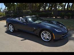 SOLD 2014 Chevrolet Corvette Z-51 Convertible Night Race Blue for ...