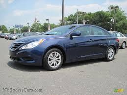 2011 Hyundai Sonata GLS in Indigo Blue Pearl - 044730 ...