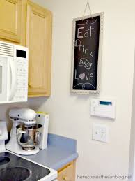 Washi Tape Kitchen Cabinets Washi Tape Chalkboard Here Comes The Sun
