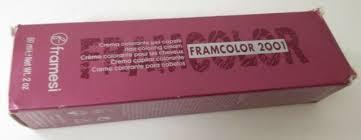 Framesi Framcolor 2001 Hair Coloring Cream 6hr Medium Bright Red 2 Ounce