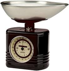 Small Picture Typhoon Vintage Kitchen Scales Black Amazoncouk Kitchen Home