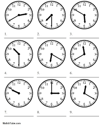 telling time worksheets | telling the time worksheet | Projects to ...