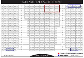 Spanos Theater Seating Chart Cal Poly Stadium Seating Chart 2019