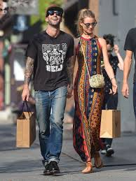 On the same day, adam posted a shirtless pic of himself with behati on instagram and wrote #animals. 15+ pictures inside of adam levine performing on. Why Are Adam Levine And New Wife In Blood Soaked Video