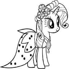 Small Picture Print Download My Little Pony Coloring Pages Learning with Fun