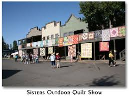 Stitchin' Heaven Travel: Experience the Sisters, OR Outdoor Quilt Show & Tour Highlights ~ Sisters, OR, Qoudoor Quilt Show Adamdwight.com