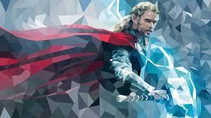 Wallpaper 4k Thor Abstract 4k ...