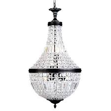 crystal basket chandelier crystal basket chandelier medium bronze 6 light crystal basket chandelier sydney jessica 3