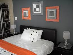 Orange And Grey Bedroom Love The Colors Especially Like The Gray And Orange Bedroom