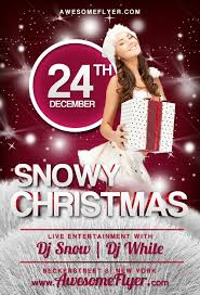 Christmas Party Flyer Template Psd Freepsdflyer Download Free