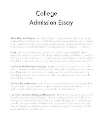 Personal Statement Essay Examples For College Personal Essays For