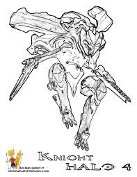Small Picture Halo 4 Coloring Pages Halo 4 Free Halo 3 Halo Reach