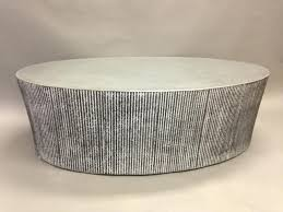silver drum coffee table large round concrete coffee table silver drum coffee table uk