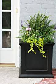Planters For Front Porch Best 25 Door Ideas On Pinterest 1