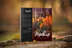 nature things 5 x 8 front back book mockup covervault