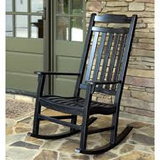 outdoor rocking chair black porch rocker wooden front porch rocking chairs for decoration