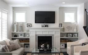 family room ideas with tv. traditional living room ideas with fireplace and tv small family for rest white fabric sofa set grey marble border silver metal lantern f