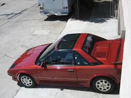 For Sale: 1988 Red Supercharged Toyota MR2 - T-Top, Manual