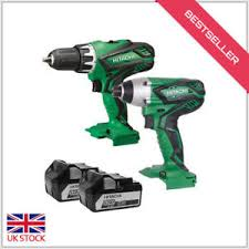 hitachi power tools. hitatchi power tools 18v combi drill with motor and 2x5 a li-ion two speed hitachi