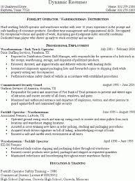 Forklift Resume | Resume CV Cover Letter