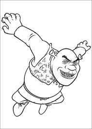 Small Picture Shrek 4 Coloring Pages