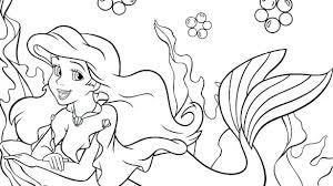 Princess Ariel Printable Coloring Pages Trustbanksurinamecom