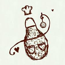 Cooking Utensils Drawing Clipart Panda Free Images Funny Apron With