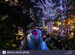 Festival Of Lights San Antonio San Antonio Riverwalk Christmas Stock Photos San Antonio