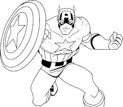 Superheroes Printable Coloring Pages 9ncm Coloring Marvel Coloring