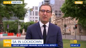 9 News Adelaide - SA in Lockdown