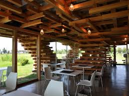 sustainable restaurant furniture. Cool Flexible Cafe Building Sustainable Method Restaurant Furniture
