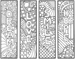 coloring book markers bookmarks coloring page inspired bookmarks thoughts free coloring book markers