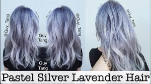 Light Purple And Silver Hair Pastel Silver Lavender Hair