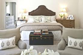 Bedroom Storage Trunk Wicker Storage Trunk Bedroom Traditional With Bed  Pillows Bedside Table Image By Interiors