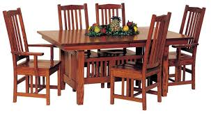 mission style dining table stun room furniture home design ideas 12