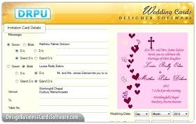 Invitation Maker Software Free Download Invitation Card Maker Software Developmentbox