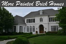 Elegant ... Painted Brick Homes. They ...