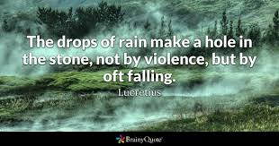 Beautiful Quotes About Rain